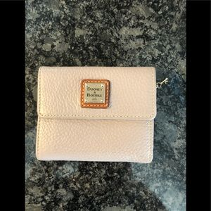 Dooney and Bourke Wallet Taupe Color Tri Fold